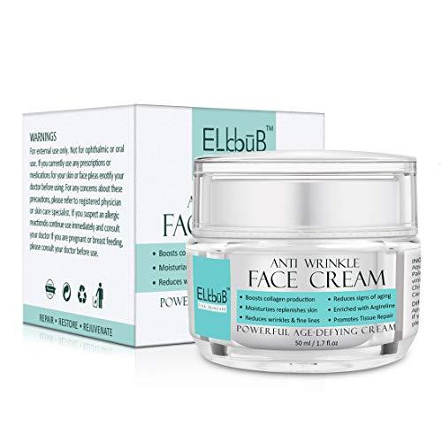 Anti-Aging Creme - Anti Aging Hyaluron Creme - Feuchtigkeitspflege für Gesicht und Augen - Gesichtscreme - Feuchtigkeitscreme reduziert effektiv Falten, schlaffe Haut & Altersflecken