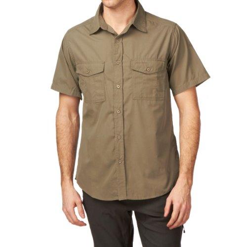 Craghoppers Kiwi Herren kurzärmeliges Hemd - Pebble, Small