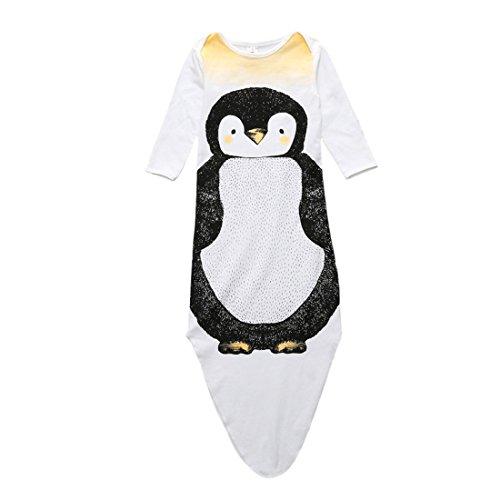 Casa Unisex Baby Schlafsack Wrap Anti-Kicking Decke Schlafsack Cartoon Einschlagdecke für Babys Kleinkinder Neugeborene