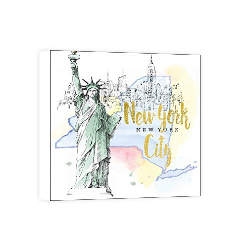 Kunstdruck auf Leinwand Wall Art Grove Beth US Cities IV