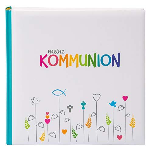 Goldbuch Fotoalbum für die Kommunion, Regenbogen, 25x25 cm, 60 weiße Seiten, 4 Seiten...