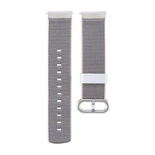Preisvergleich Produktbild Nylon Uhrenarmband für Xiaomi Huami Amazfit Smartwatch, Upxiang Armband Handschlaufe mit Schnalle Connector (Grau)
