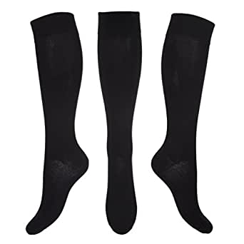 Kensington® Compression Socks for Men & Women. Stay Well Anti-DVT Graduated Fit Pain Relief, Recovery, Endurance, Shin Splints, Flight Travel, Maternity. Boost Leg Stamina (Size Small 3-5 (36-38))