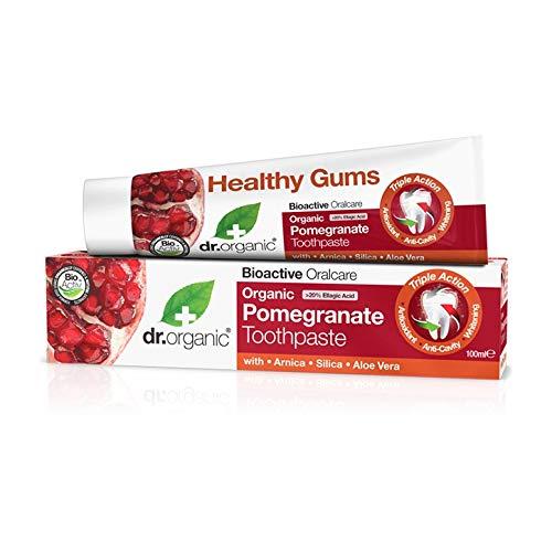 Dr. Organic Pomegranate Toothpaste - Dentifricio 100 ml