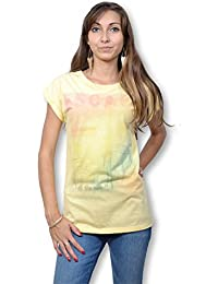 B.YOUNG - Tee shirt manches courtes femme - Jaune