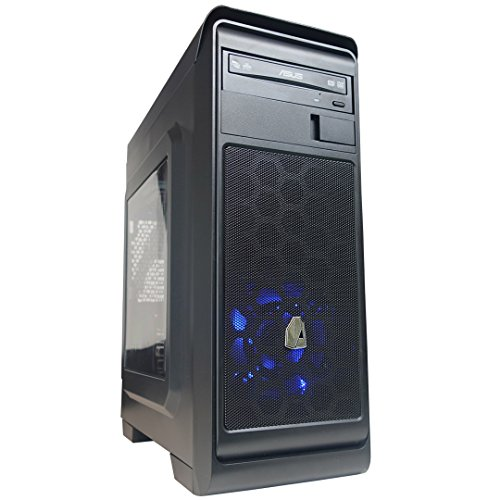 NITROPC - PC Gamer Nitro *Rebajas de Abril* (CPU Quad-Core 4 x 3,40 GHz, T. Gráfica 2 GB, HDD 1 TB, Ram 8 GB + Windows 10 64 bits) + WiFi de Regalo. pc Gamer, pc Gaming, Ordenador para Juegos
