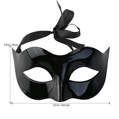 greatstorys Herren Frauen Masquerade Kostüm venezianischen Masquerade Maske Villain Eye Mask (Villain-kostüme Für Frauen)