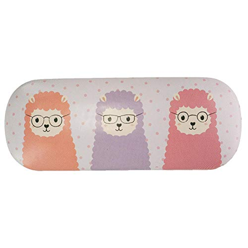 Sass and Belle Little Llama Glasses Case Sunglasses Hard Case Pastel Colours Cute Girly