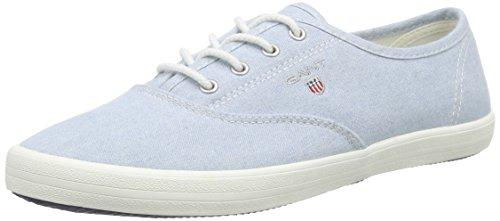 Gant New Haven, Baskets Basses femme Bleu - Blau (ice blue G69)