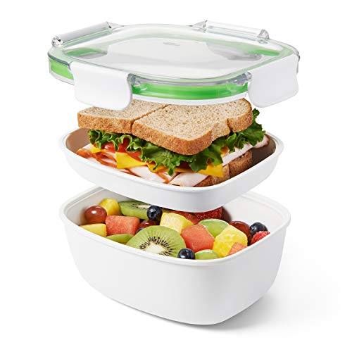 Oxo on the go lunch box, plastica, bianco