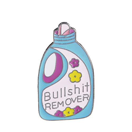 Republe Einzigartige Reinigungsmittelsprühbalken Wäsche Flüssigkeit Brosche-Stifte Button-Cartoon-Emaille-Revers-Abzeichen Schmuck Geschenk - Revers-stifte