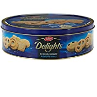 Tiffany Delights Butter Cookies Tin - 810 g