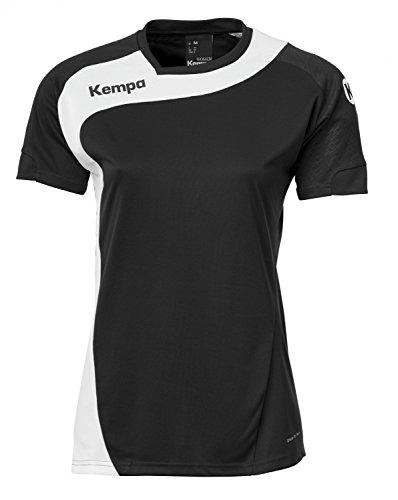 Kempa Damen Bekleidung teamsport peak trikot, schwarz/weiß, L, 200305604
