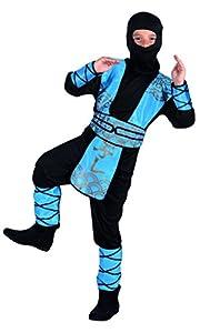 Boland 82192-Disfraz para niños Ninja Royal