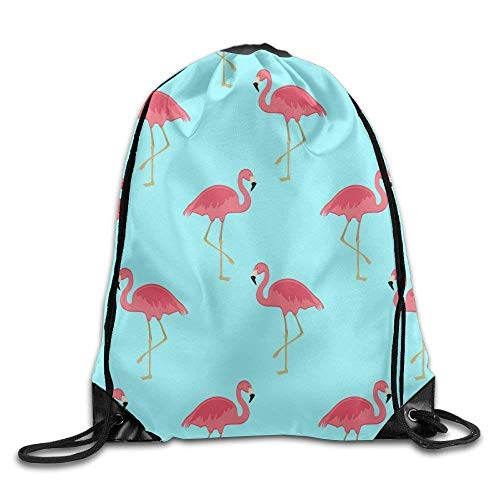 ewtretr Sacche Coulisse Zaino, Drawstring Backpack Sports Gym Waterproof Large String Bag