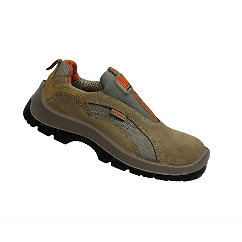 Ergos cannes businessschuhe plat chaussures s1P chaussures de sécurité marron Marron - Marron