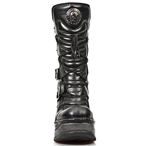 New black Rock Femme Sp9873 S1 Bottes Motardes rrSTxq