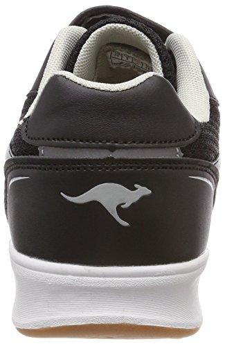 KangaROOS Roji EV, Sneaker Unisex – Adulto Schwarz (Jet Black/Vapor Grey)