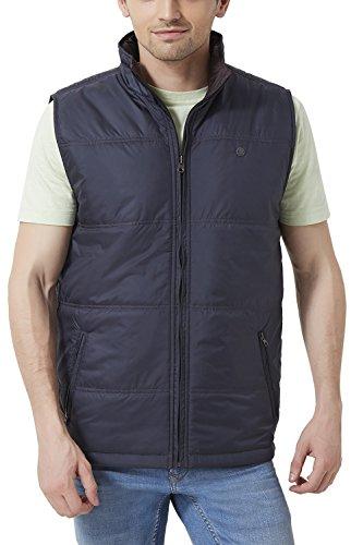 Peter England Men's Regular Fit Outerwear_ Eow51500494_m_ Navy