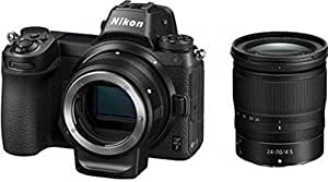 Nikon Z7 Mirrorless Camera Body with 24-70mm Lens and Mount Adapter FTZ (Black)