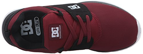 DC Heathrow Skate Shoe, Black/Grey/Green, 14 M US Chili Pepper