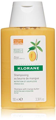 Klorane Nutrition Shampoo zum Butter Mango-trockenes Haar 100ml