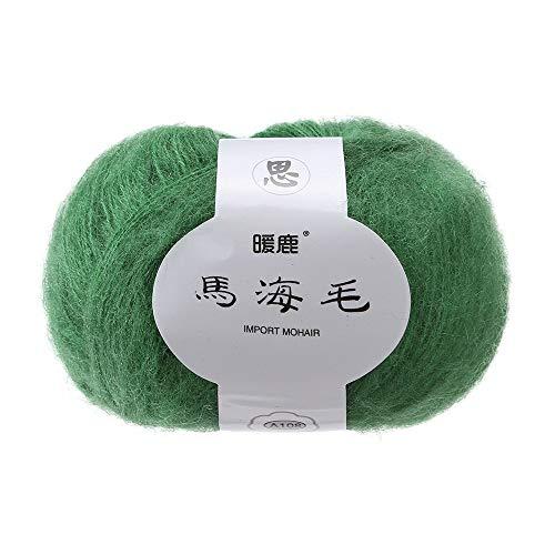Italily morbido mohair cachemire maglia filo di lana diy scialle sciarpa gancio lana per maglieria filato diy scialle sciarpa uncinetto filo fornitura