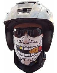 "'""Original Sa Company en provenance des États-Unis Gangster Foulard Masque Tuyau rigide Protection contre le froid visage masque Halloween Moto Ski Snowboard Vélo chasse pêche Paintball"
