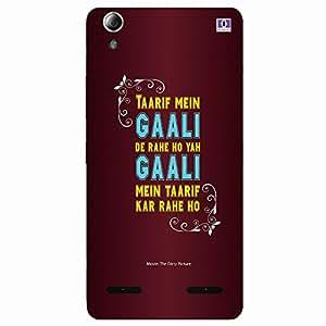 Gaali Gaali - Mobile Back Case Cover For Lenovo A6000 Plus