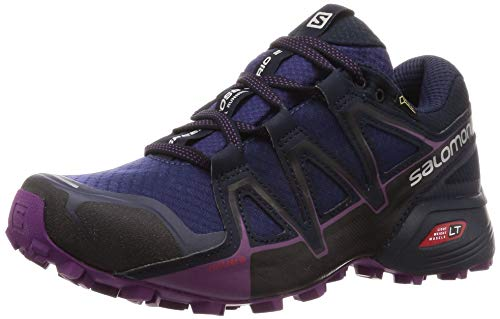Salomon Speedcross Vario 2 GTX, Damen Traillaufschuhe, Violett (astral aura / navy blazer / grape juice), 37 1/3EU (4.5 UK)
