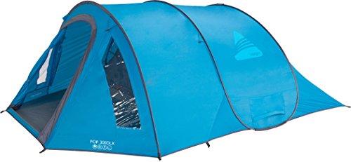 VANGO Zelt Pop 300 DLX 2-3 Personen -PopUp Camping Sekunden-Automatik-Wurf-Zelt