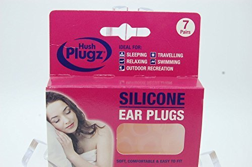 Price comparison product image GENUINE Hush Plugz Silicone Earplugs, 42 Pairs, Defenders Of The Ear