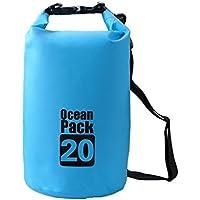 f7ff0e9d78673 helengili Camping Ocean Pack Driften Wasserdichte Tasche Gurt Schwimmen  Boote Wasser Sport Tasche 2 L