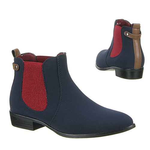 Chaussures, bottines pa - 490 Bleu - Bleu
