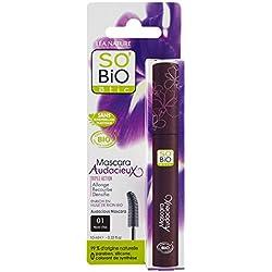 So'Bio Étic, Mascara Audacieux, tripla azione, 01 Noir Intense, 10 ml, 2 pz.