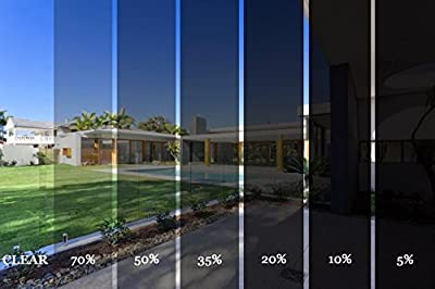 Diversity Wrap Film solaire teinté anti-rayures 1 épaisseur pour voiture, van (medium gris 25%)