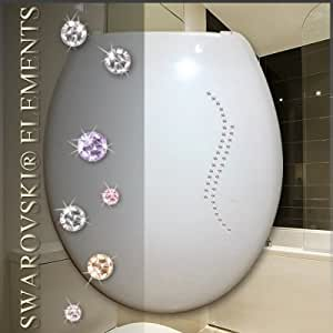 36 swarovski elements kristalle ornament fermenia for Swarovski fliesen