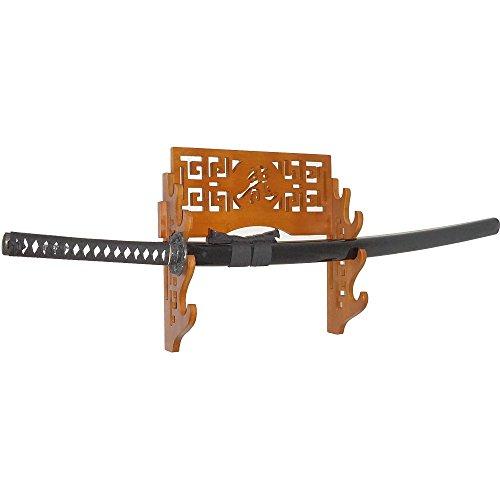 Moumou Soporte de pared para espada de bambú Samurai, soporte de espada...