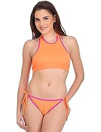 URBAANO high Neck Bikini Set - URA165-S