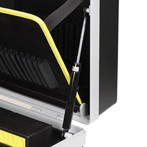 RAACO Werkzeugkoffer ToolCase fahrbar mit Rollen 485x410x250 mm - 4