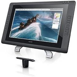 Wacom DTK-2200 Display Interattivo Full HD con Penna e Touch, Tavoletta Grafica, 2048 Livelli di Pressione, 22 Pollici