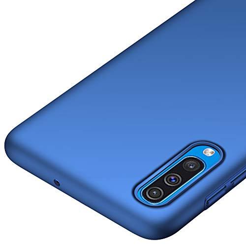 Richgle Samsung Galaxy A50 Hülle, Blau Sehr Dünn Schutz Hülle Handyhülle Harte Schutzhülle Case für Samsung Galaxy A50 (6.4