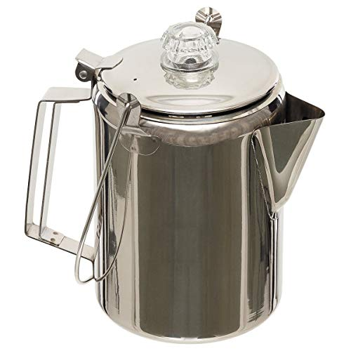 Fox Outdoor 33305 Cafetera Acero Inoxidable percolador