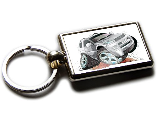 toyota-rav4-4x4-car-official-koolart-quality-chrome-keyring-picture-both-sides-choose-a-colour-silve