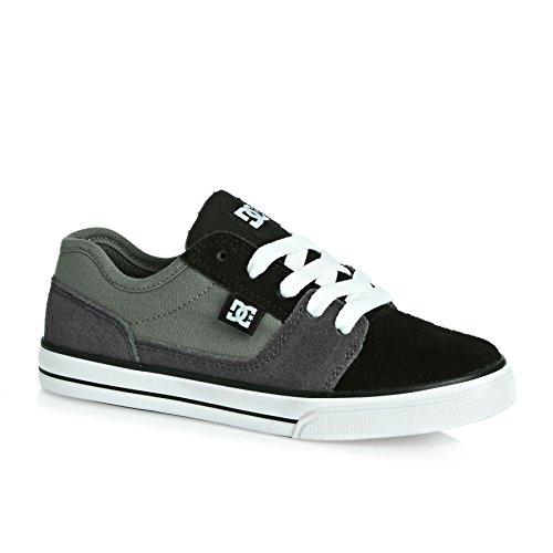 DC Shoes - Tonik, Scarpe sportive Bambino Nero/Grigio