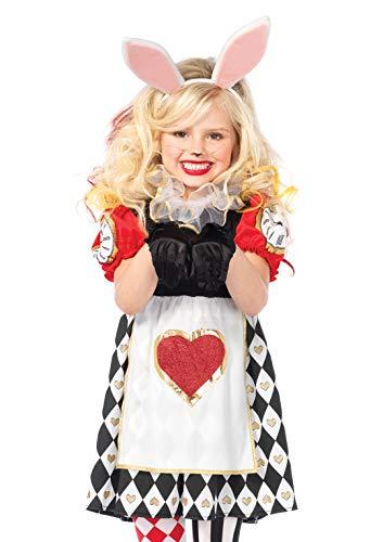 Leg Avenue C48141 - Märchenland-Kaninchen-Kostüm, Größe Medium (EUR 128-140) (Avenue Leg Fee-kostüm)