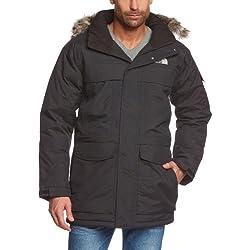 The North Face M McMurdo Parka - Chaqueta para hombre, color negro, talla XL
