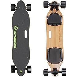 Marui Skateboards Pro W1 - Longboard con pantalla LCD de doble motor y mando a distancia para deportes profesionales, W1-Pro Sanyo