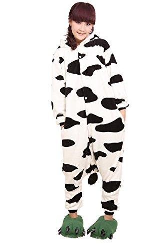 Molly Kigurumi Pyjamas Unisexe Adulte Costume Cosplay Animaux Onesie Vache