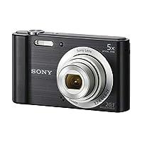الكاميرا الرقمية سايبر شوت من سوني، 20.1 ميجابيكسل, اسود - DSC-W830